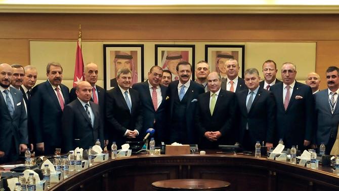TOBB, 50 kişilik heyetle Ürdün'e çıkarma yaptı