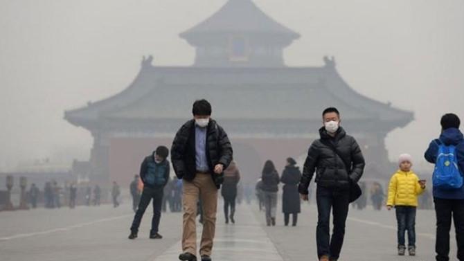 Çin'de hava kirliliği sarı alarm verdi