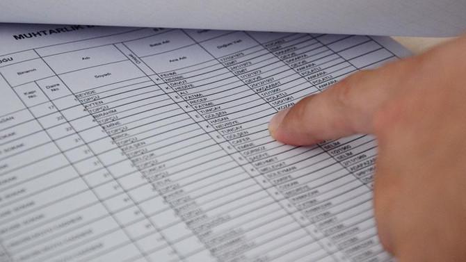 'Seçmen listeleri 18-26 Şubat'ta askıda kalacak'