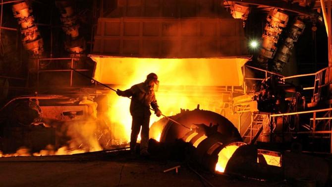 Çelik üretimi arttı