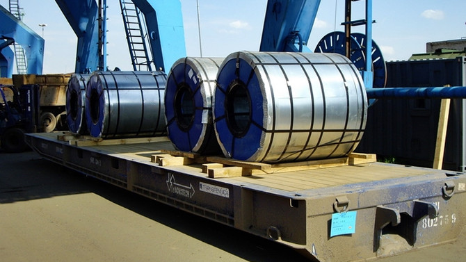 Mısır'a çelik ihracatı hız kazandı