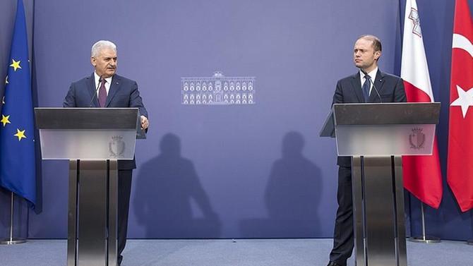 Başbakan Yıldırım, Rum liderin davranışını eleştirdi