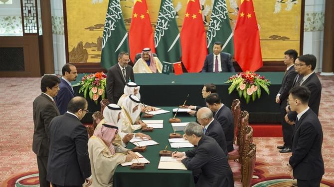Çin ile Suudi Arabistan arasında 65 milyar dolarlık anlaşma