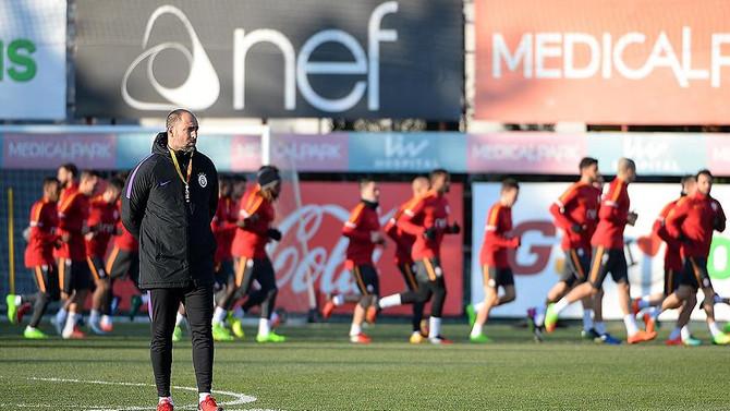 Galatasaray'da Trabzonspor mesaisi