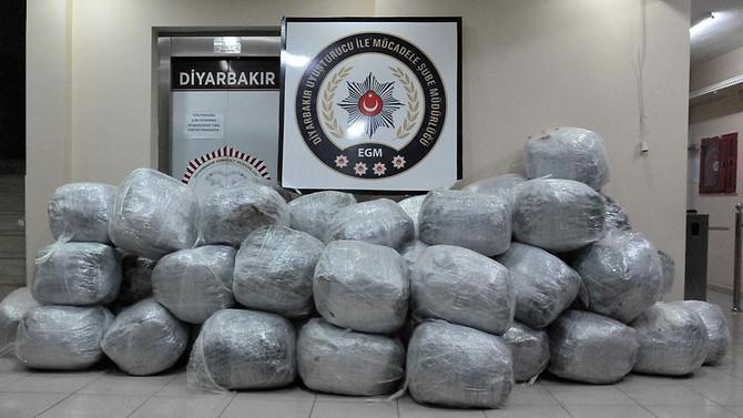 2,7 ton uyuşturucu ele geçirildi