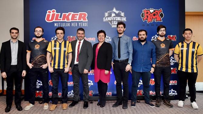 Ülker, LOL Şampiyonlar Ligi'ne sponsor oldu