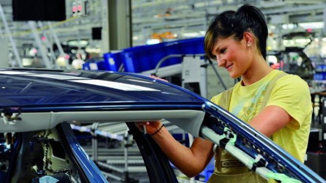 Ağır sanayide kadın işgücü