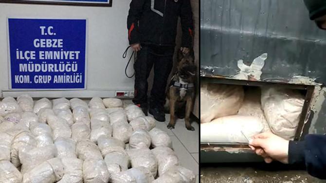 2 milyon uyuşturucu hap ele geçirildi