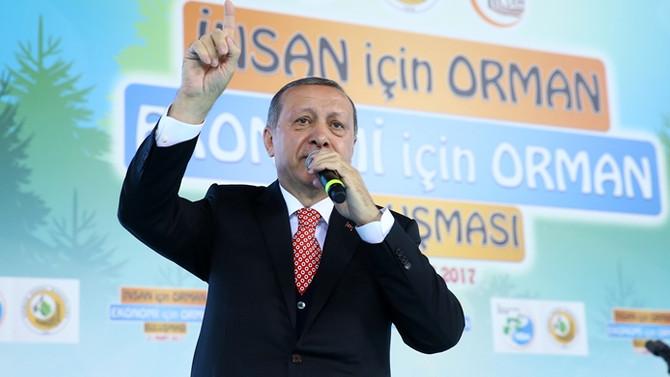 Erdoğan: Bitti o işler