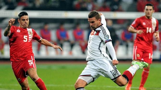 Podolski Almanya Milli Takımı'na veda ediyor