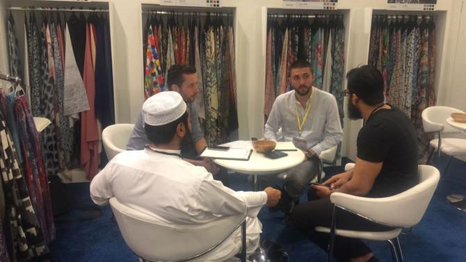 Tekstilciler Dubai'de 260 iş görüşmesi gerçekleştirdi