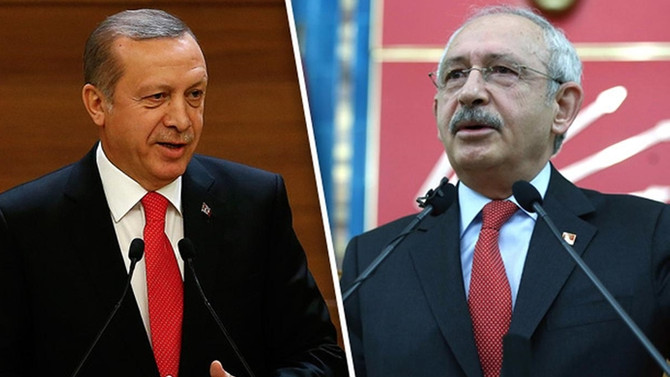 Erdoğan ve Kılıçdaroğlu son anket rakamlarını açıkladı