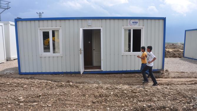 Samsat'a konteyner kent kuruluyor