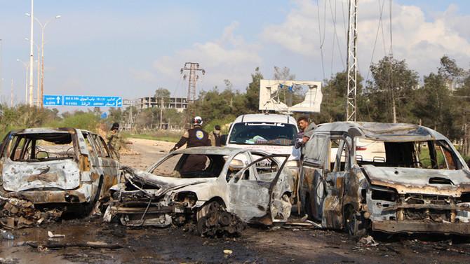 Suriye'de patlama: 100 ölü