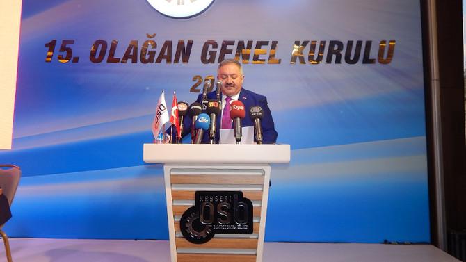 Kayseri OSB'de Tahir Nursaçan güven tazeledi