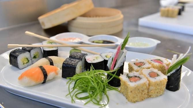 İzmir'de sushi yapım kursu