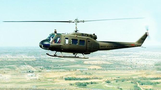 Komşu'da askeri helikopter düştü: 4 ölü