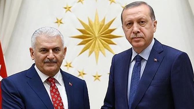 Erdoğan, Yıldırımı kabul etti