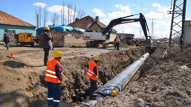 Yüksekova'nın yarım asırlık su sorunu çözülüyor