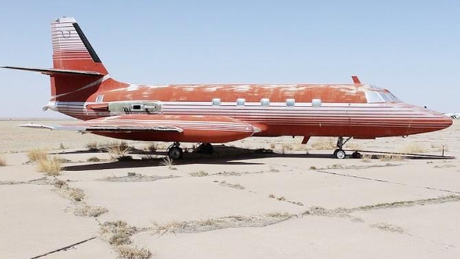 Elvis Presley'in özel uçağı açık artırmada