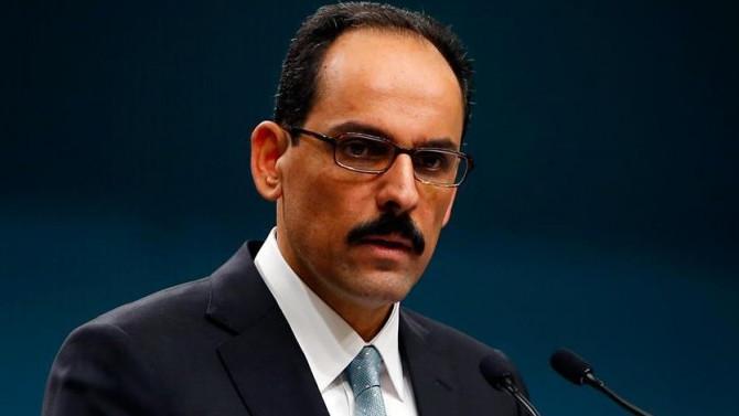 Cumhurbaşkanlığı Sözcüsü Kalın'dan K. Irak'a uyarı: Bu yanlıştan dönün