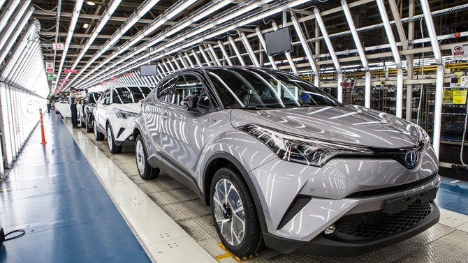 Toyota Otomotiv Sanayi Türkiye'ye ihracat ödülü