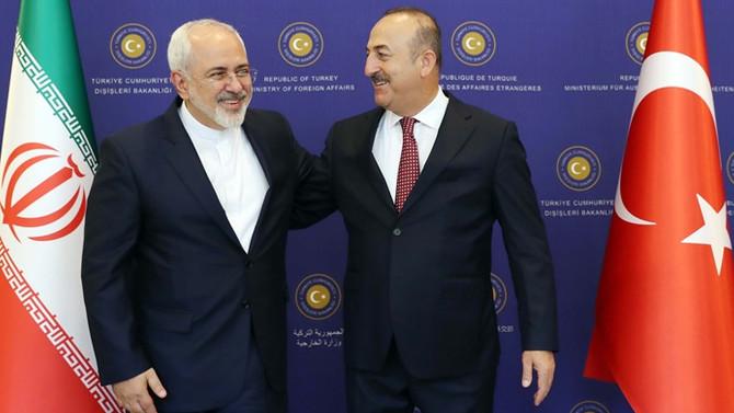 Cumhurbaşkanı Erdoğan, İran Dışişleri Bakanı Zarif ile görüşüyor