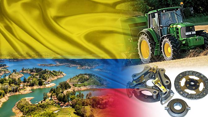Kolombiyalı firma tarım makinesi yedekleri ithal edecek