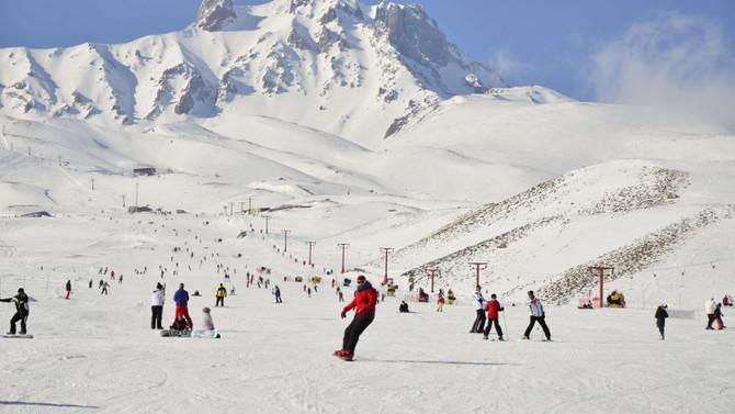 Kayseri otelleri, kayak rezervasyonlarını almaya başladı