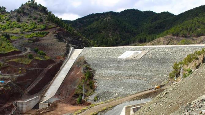 Kunduzlu Barajı'nın yapımı tamamlandı