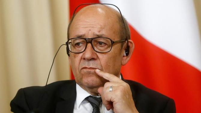 Fransa Dışişleri Bakanı Katar'da
