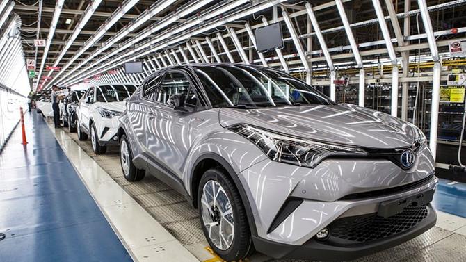 Toyota'nın Avrupa satışlarının yüzde 40'ı hibrit