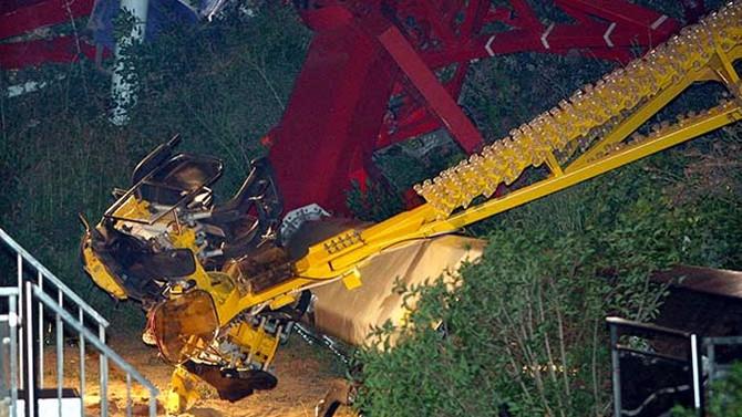İspanya'da lunaparkta hız treni kazası: 33 yaralı