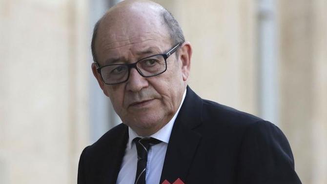 Fransa Dışişleri Bakanı Le Drian BAE'de