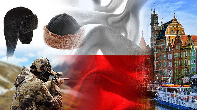 Polonya pazarı için av aksesuarları talebi
