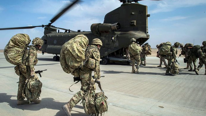 İngiltere ile Katar ortak askeri tatbikat düzenledi