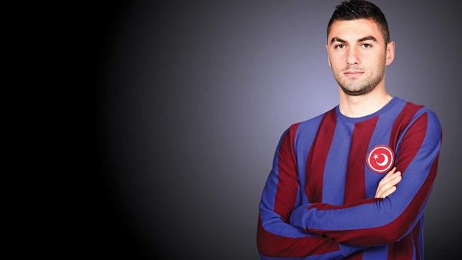 Trabzonspor Burak Yılmaz'ı KAP'a bildirdi