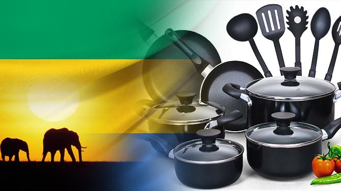 Gabon pazarı için tencere ve tava setleri talep ediliyor