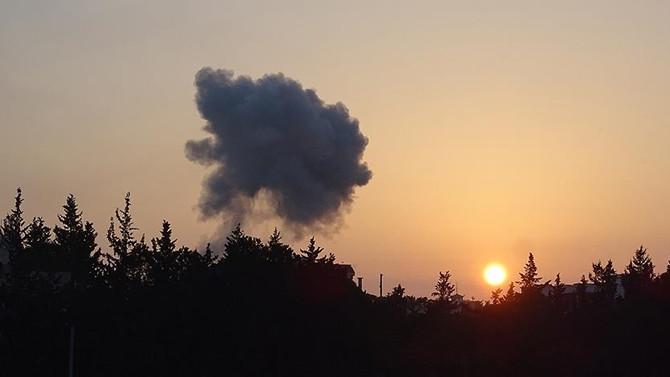 Lübnan'ın Suriye sınırında DEAŞ'tan füze saldırısı