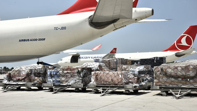 Hava yoluyla ithalat yüzde 51 arttı