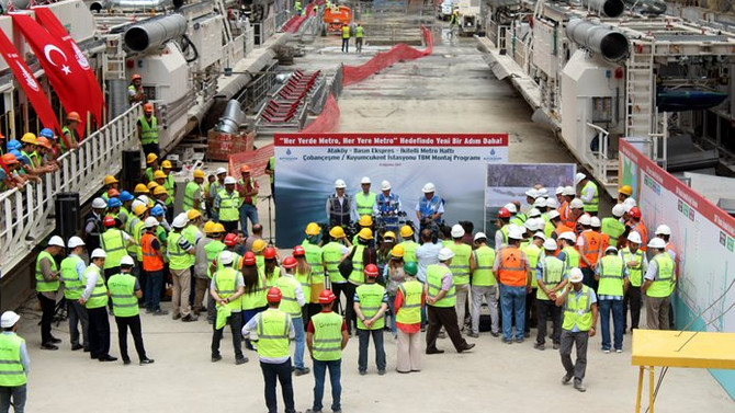 Yeni metro hattı 2019'da tamamlanacak