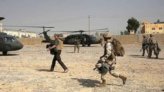 ABD, Telafer'de askeri üs inşa ediyor