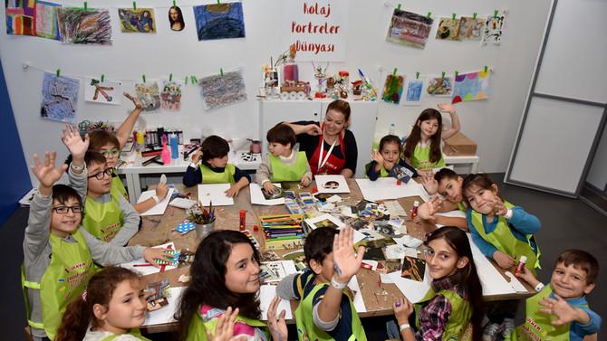 Ülker, çocukları bir kez daha sanatla buluşturuyor