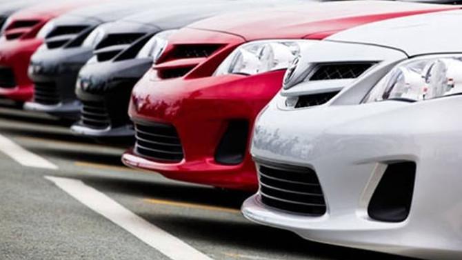 Otomobilde satışlar ağustosta hafif arttı