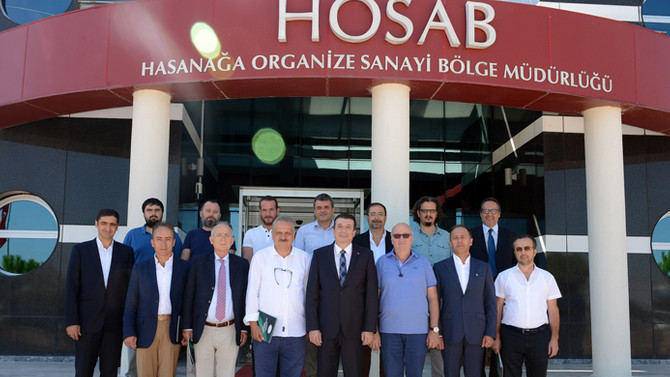 HOSAB ve HOSABSİAD'da başkanlara güvenoyu