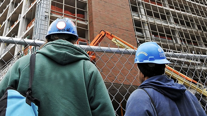 İnşaat sektöründe istihdam yüzde 0,9 azaldı