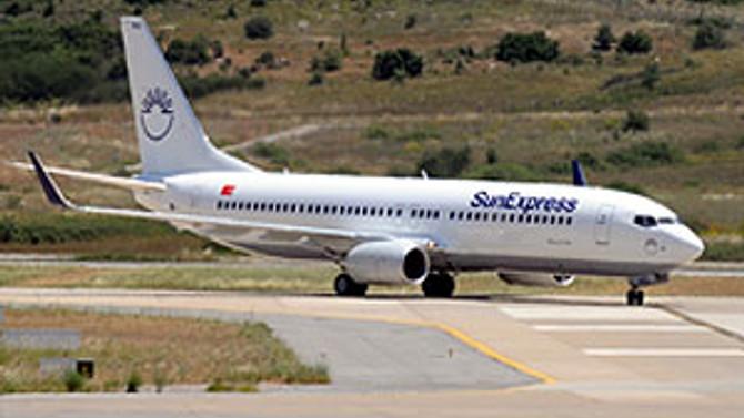 AnadoluJet ve SunExpress'ten ortak uçuş hizmeti
