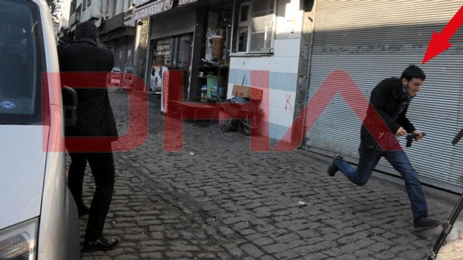 Çatışmada kameralara takılan kritik görüntü