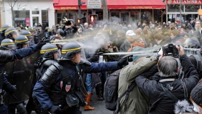 Paris'te kritik zirve öncesi çatışma