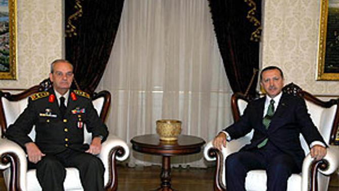 Başbakan Erdoğan, Org. Başbuğ'u kabul edecek
